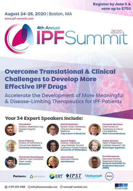 IPF Brochure front cover